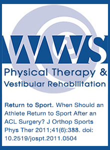 Return to Sport After ACL Surgery
