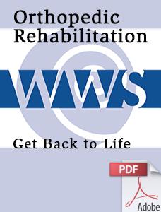 Orthopedic Rehabilitation Brochure