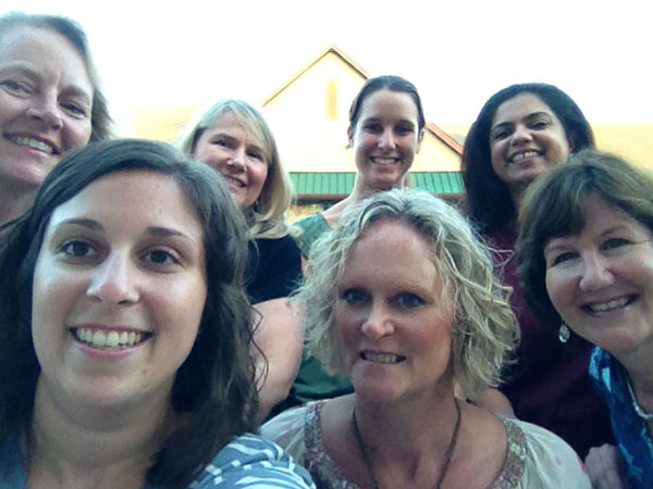 "WWSPT Staff Event August 2014. Our First ""Selfie!"""