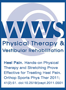 Hands-on Physical Therapy and Stretching Prove Effective for Treating Heel Pain